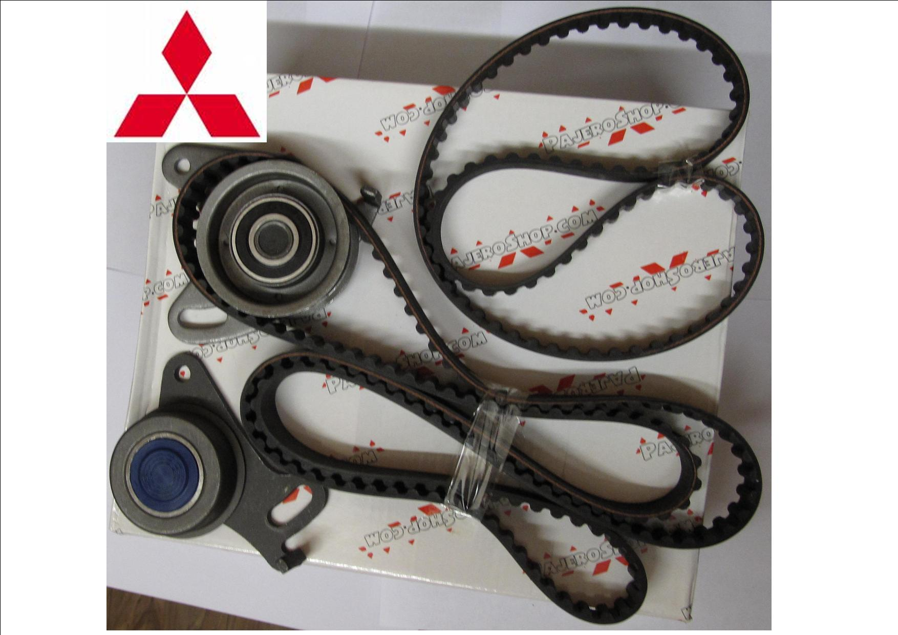 1986 -1993 COMPLETE 2 CAM BELTS KIT + 2 TENSIONERS SHOGUN,PAJERO