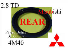 Crankshaft Rear Oil Seal 2.8TD 4M40
