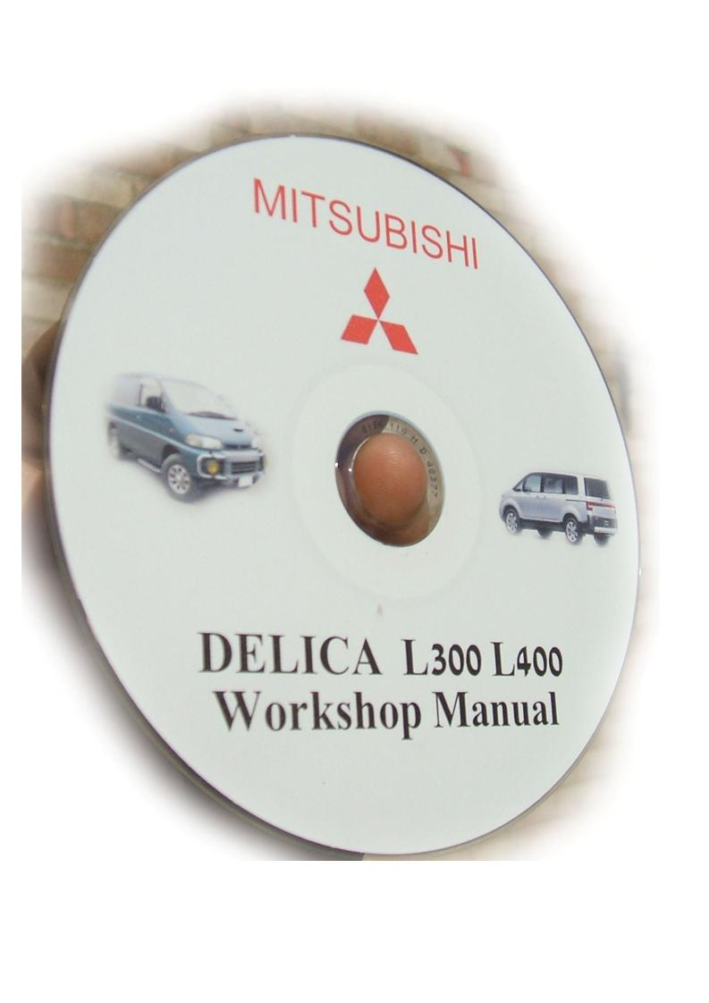 Download Mitsubishi Delica L300 & L400 Manual CD