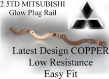 Copper Glow Plug Rail For 2.5 TD & L200