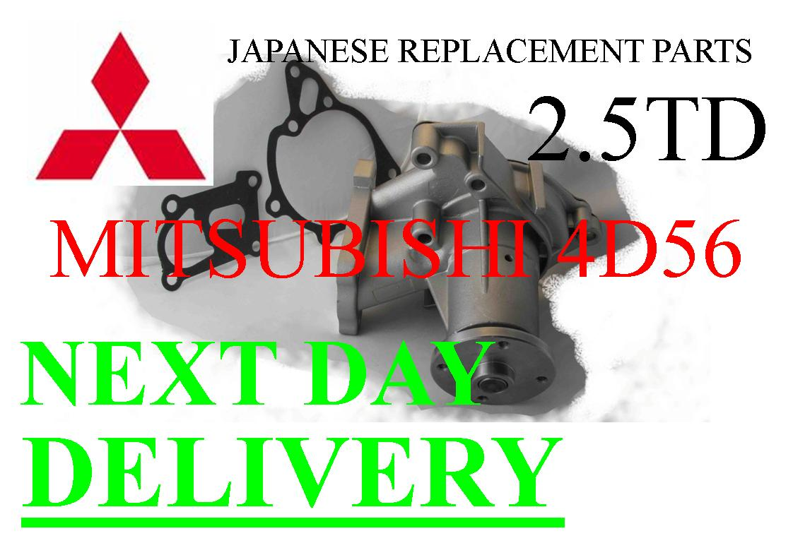Water Pump Mitsubishi Pajero Shogun L200 2.5 TD - Click Image to Close